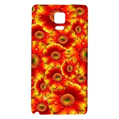 Gerbera Flowers Nature Plant Galaxy Note 4 Back Case