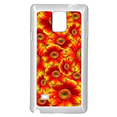Gerbera Flowers Nature Plant Samsung Galaxy Note 4 Case (white)