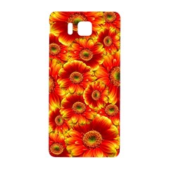 Gerbera Flowers Nature Plant Samsung Galaxy Alpha Hardshell Back Case