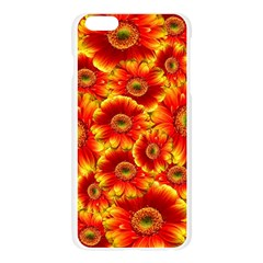 Gerbera Flowers Nature Plant Apple Seamless iPhone 6 Plus/6S Plus Case (Transparent)