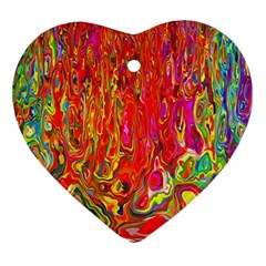 Background Texture Colorful Ornament (heart)