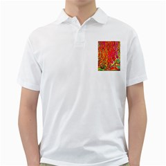 Background Texture Colorful Golf Shirts