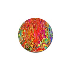 Background Texture Colorful Golf Ball Marker (4 pack)
