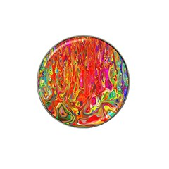 Background Texture Colorful Hat Clip Ball Marker (10 Pack)