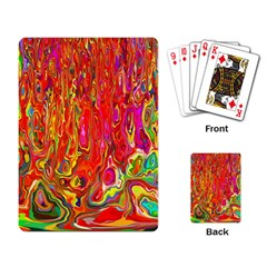 Background Texture Colorful Playing Card