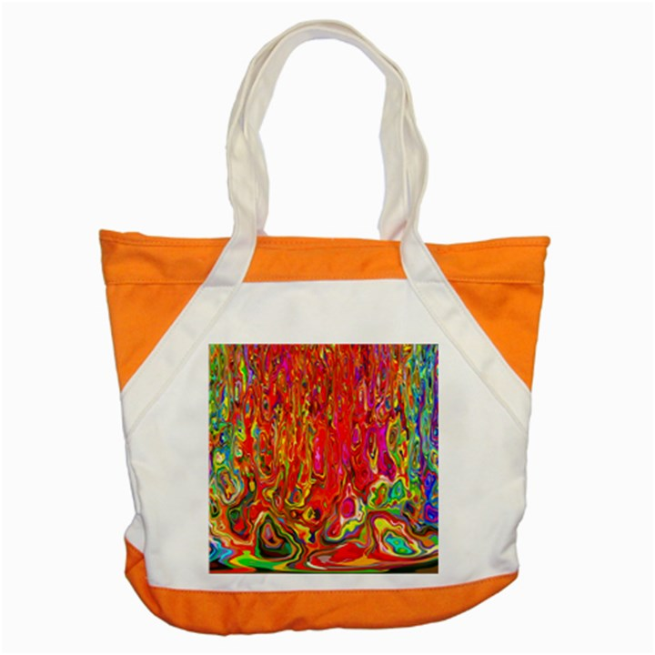 Background Texture Colorful Accent Tote Bag