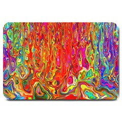 Background Texture Colorful Large Doormat