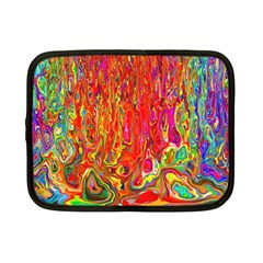 Background Texture Colorful Netbook Case (small)