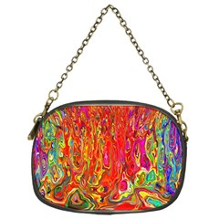 Background Texture Colorful Chain Purses (one Side)
