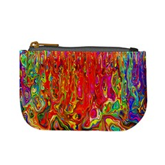 Background Texture Colorful Mini Coin Purses