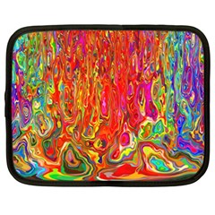 Background Texture Colorful Netbook Case (xxl)