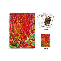 Background Texture Colorful Playing Cards (Mini)