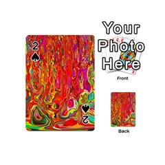 Background Texture Colorful Playing Cards 54 (mini)