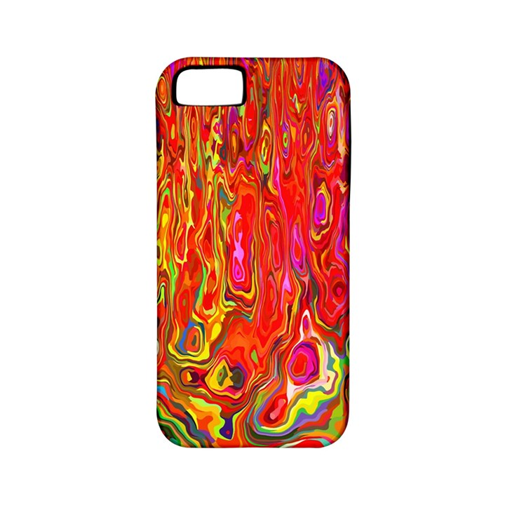 Background Texture Colorful Apple iPhone 5 Classic Hardshell Case (PC+Silicone)