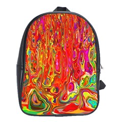 Background Texture Colorful School Bags (xl)