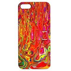 Background Texture Colorful Apple Iphone 5 Hardshell Case With Stand