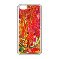 Background Texture Colorful Apple Iphone 5c Seamless Case (white)