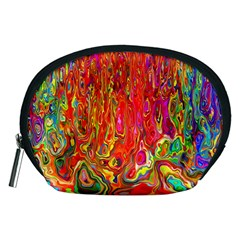 Background Texture Colorful Accessory Pouches (medium)