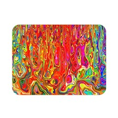 Background Texture Colorful Double Sided Flano Blanket (mini)
