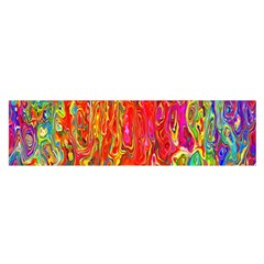 Background Texture Colorful Satin Scarf (oblong)