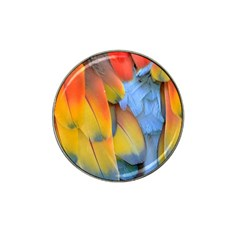 Spring Parrot Parrot Feathers Ara Hat Clip Ball Marker (10 pack)