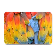 Spring Parrot Parrot Feathers Ara Small Doormat