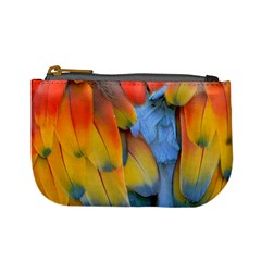 Spring Parrot Parrot Feathers Ara Mini Coin Purses