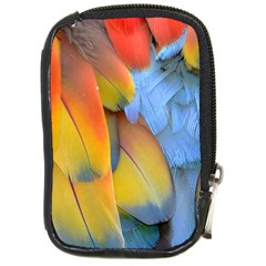 Spring Parrot Parrot Feathers Ara Compact Camera Cases