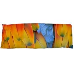 Spring Parrot Parrot Feathers Ara Body Pillow Case Dakimakura (Two Sides)