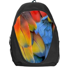 Spring Parrot Parrot Feathers Ara Backpack Bag