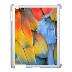 Spring Parrot Parrot Feathers Ara Apple Ipad 3/4 Case (white)