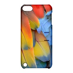 Spring Parrot Parrot Feathers Ara Apple iPod Touch 5 Hardshell Case with Stand
