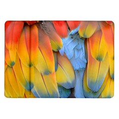 Spring Parrot Parrot Feathers Ara Samsung Galaxy Tab 10 1  P7500 Flip Case