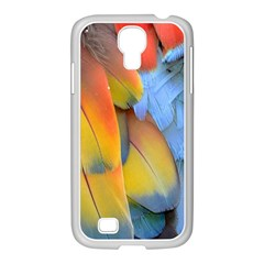 Spring Parrot Parrot Feathers Ara Samsung GALAXY S4 I9500/ I9505 Case (White)