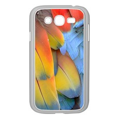 Spring Parrot Parrot Feathers Ara Samsung Galaxy Grand Duos I9082 Case (white)