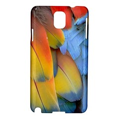 Spring Parrot Parrot Feathers Ara Samsung Galaxy Note 3 N9005 Hardshell Case