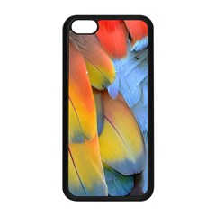 Spring Parrot Parrot Feathers Ara Apple Iphone 5c Seamless Case (black)