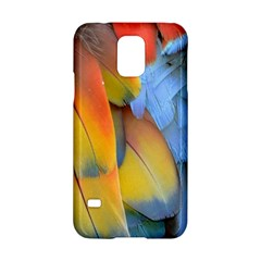 Spring Parrot Parrot Feathers Ara Samsung Galaxy S5 Hardshell Case
