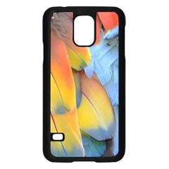 Spring Parrot Parrot Feathers Ara Samsung Galaxy S5 Case (black)