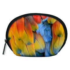 Spring Parrot Parrot Feathers Ara Accessory Pouches (medium)