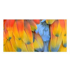 Spring Parrot Parrot Feathers Ara Satin Shawl