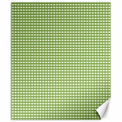 Gingham Check Plaid Fabric Pattern Canvas 20  X 24