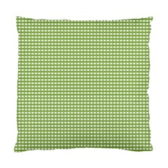 Gingham Check Plaid Fabric Pattern Standard Cushion Case (one Side)