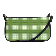 Gingham Check Plaid Fabric Pattern Shoulder Clutch Bags
