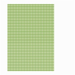 Gingham Check Plaid Fabric Pattern Small Garden Flag (Two Sides)