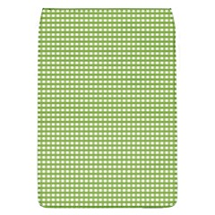 Gingham Check Plaid Fabric Pattern Flap Covers (l)