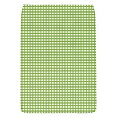 Gingham Check Plaid Fabric Pattern Flap Covers (s)
