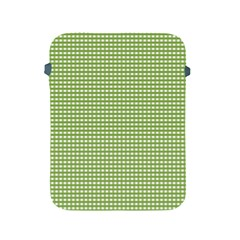 Gingham Check Plaid Fabric Pattern Apple Ipad 2/3/4 Protective Soft Cases