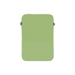 Gingham Check Plaid Fabric Pattern Apple iPad Mini Protective Soft Cases