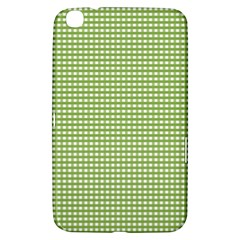 Gingham Check Plaid Fabric Pattern Samsung Galaxy Tab 3 (8 ) T3100 Hardshell Case